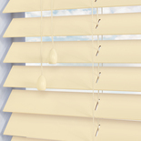 Zambezi 50 Mirren White and Cream 50mm Wooden Blinds