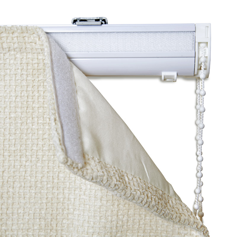 Panama Popular Roman Blind In Grey Quality Made To