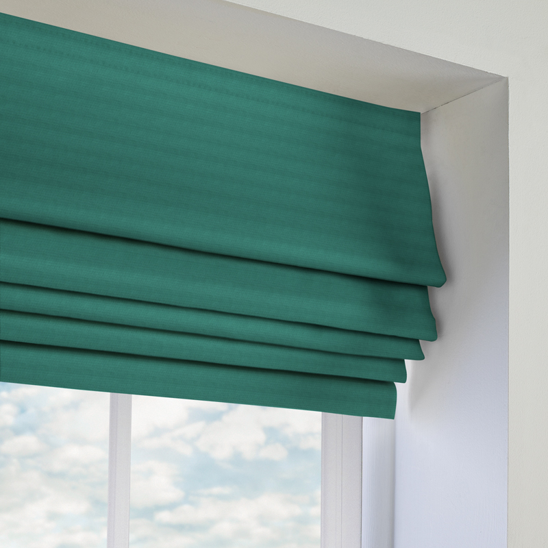 Panama Roman Blind In Marine Quality Made To Measure